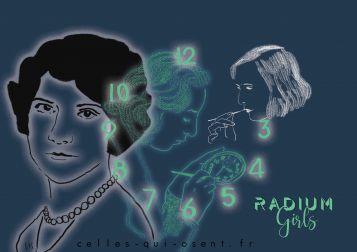 radium-girls-horloge-cadrans-phosphorescence-radium-poison-ouvrières