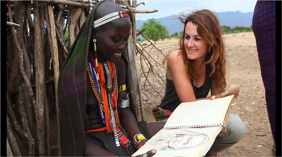 interview artiste voyageuse stephanie ledoux