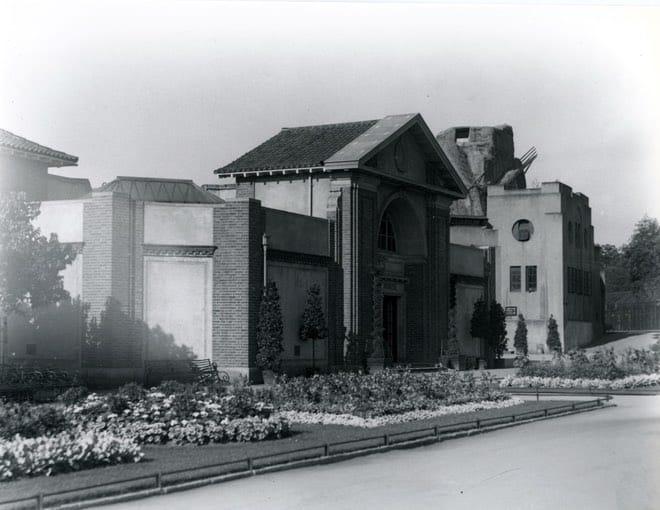 Reptile House Bâtiment conçu par Joan Procter au zoo de Londres
