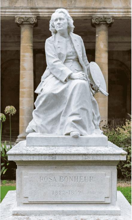 ssculpture de rosa bonheur à Bordeaux